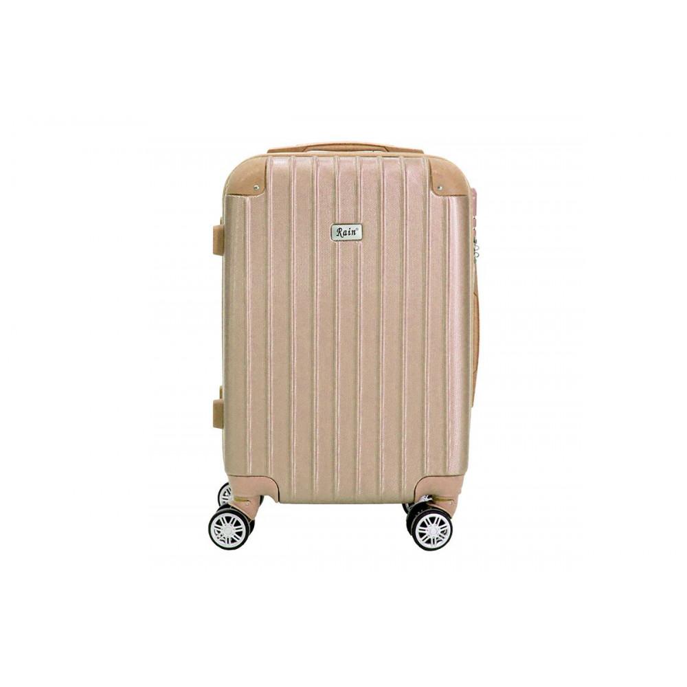 8c9b239a8d8 Βαλίτσα ταξιδιού Rain μπρονζέ (κωδ.RB6030-3) Δωρεάν μεταφορικά.