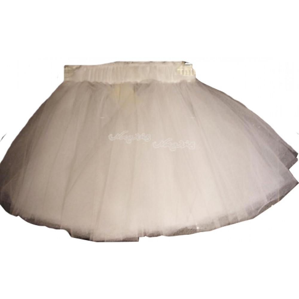 e0b07a70174 Φούστα Μπαλέτου Τούλινη (Άσπρο) (Κωδ.437.01.002) (Για Παραγγελία