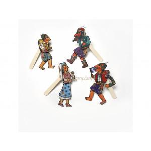 Καραγκιόζης φιγούρες ξύλινες (902135-186)