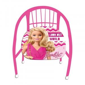 Καρεκλάκι Μεταλλικό Barbie