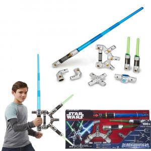 Φωτόσπαθο Star Wars Bladebuilders Jedi Master Lightsaber (B2949)