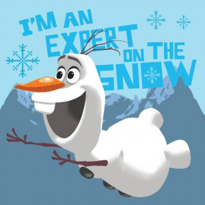 Πετσετάκι Olaf Disney (30x30cm) (Κωδ.621.01.015)