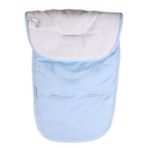 Στρωματάκι Καροτσιού Minene Διπλής Όψης Reversible Blue Κωδ.563.01.036