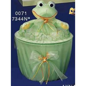 Καλάθι πάνινο βάτραχος Κωδ.0071