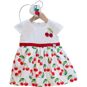 Παιδικό Φόρεμα Και Στέκα Μαλλιών 291.330.008