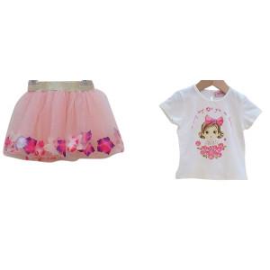 Μπλούζα & Φούστα (Ροζ) (Κωδ.291.130.342)