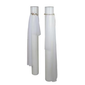 Κεριά Λαμπάδες Γάμου 11111 16Χ150εκ Η τιμή αφορά 2 Τεμάχια