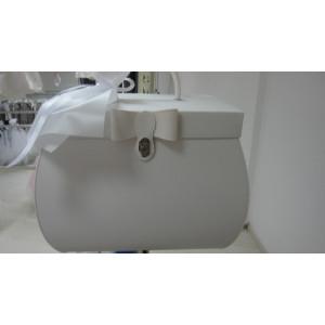 Τσάντα δερματίνη φιόγκος(Κωδ.35210)