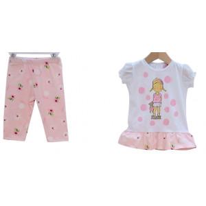 Μπλούζα & Κολάν (Ροζ) (Κωδ.291.130.344)
