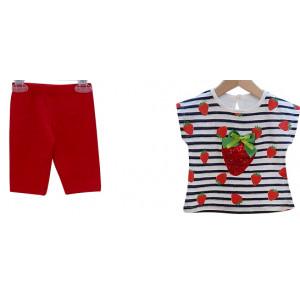 Μπλούζα & Κολάν (Κόκκινο) (Κωδ.291.130.343)