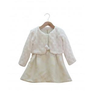 Φόρεμα & Μπολερό (Εκρού) (Κωδ.291.86.539)