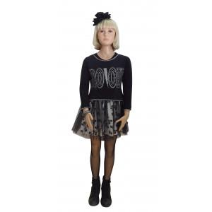 Φόρεμα & Μπλούζα (Μαύρο) (Κωδ.291.86.552)