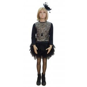 Φόρεμα & Μπλούζα (Μαύρο) (Κωδ.291.86.570)
