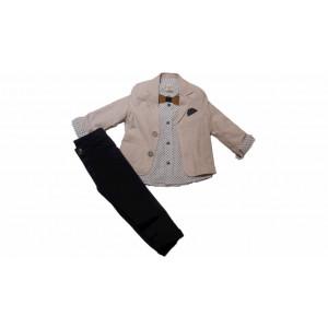 Κοστούμι 3 τμχ Μπεμπέ (Κωδ.077.044.000)