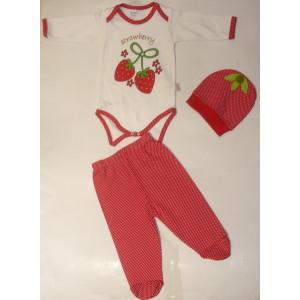 Σετάκι Βρεφικό Φράουλες (Κωδ.077.130.044)