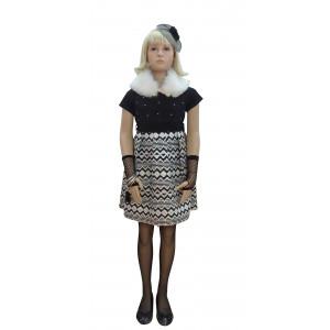Φόρεμα Κοντομάνικο Εβίτα 17896