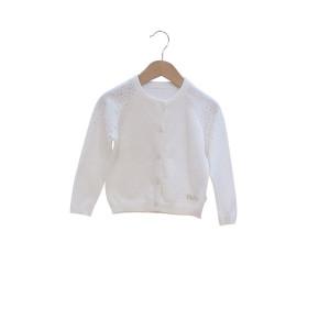 Ζακέτα Πλεκτή (Άσπρο) (Κωδ.291.052.005) (12)