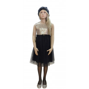 Φόρεμα X/M Τούλινο (Μαύρο) (Κωδ.291.86.572)