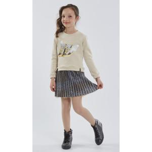 Φόρεμα Παιδικό Με Μπλούζα Εβίτα 175177