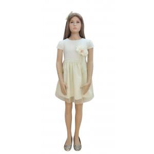 Φόρεμα Κ/M (Εκρού) (Κωδ.291.86.543)