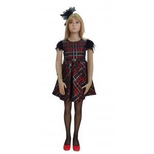 Φόρεμα Κοντό Μανίκι Εβίτα  291.86.540