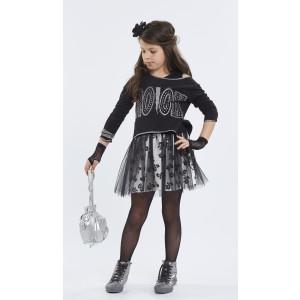 Φόρεμα  Μπλούζα Μαύρο Εβίτα  291.86.552