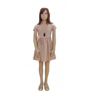 Φόρεμα Κ/M (Σομόν) (Κωδ.291.86.542)