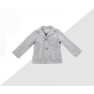 Light Grey corduroy blazer: (code: 368/96-60) angels wings