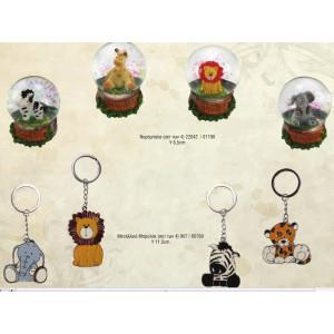 Νερόμπαλα Ζώα της Ζούγκλας 22042-155-175 Μπρελόκ 907-100-120