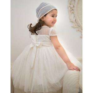 Ολοκληρωμένο πακέτο βάπτισηs με αυτό το φόρεμα (Baby bloom #119.150-128#) Με βαλίτσα rain η παγκάκι θρανίο Δωρεάν μεταφορικά