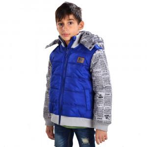 Μπουφάν Παιδικό Μπλε Ρουά 618.03.030