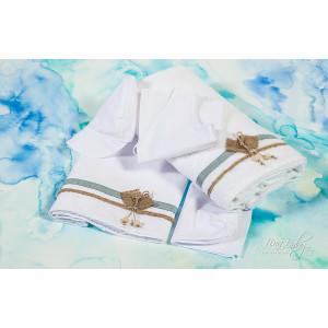 Λαδόπανο Lina Baby Ρόμβος λινάτσα (#106.22.50#) +6€ με το πακέτο βάπτισης