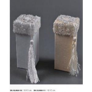 Κουτί Χάρτινο με Χάνδρες 10Χ5cm Rodia 39.10.904(0.78)