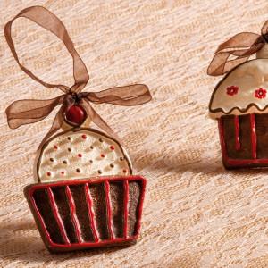 Μπομπονιέρα Cupcakes Τρια Σχέδια (Παρίσις) (Κωδ.10Ρ1023Ρ)