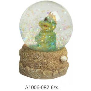 Χιονόμπαλα βάρταχος 6 εκ (Α1006)