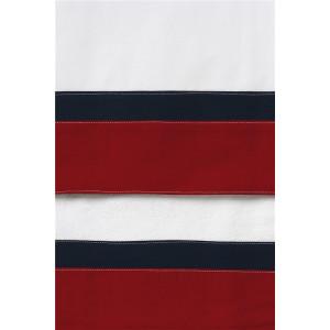 Ασπρο λαδόπανο με κόκκινη και μπλε φάσα 112415 new life