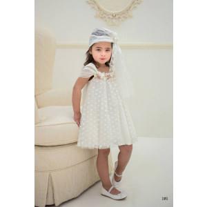 Ολοκληρωμένο πακέτο βάπτισηs με αυτό το φόρεμα (Baby bloom #119.112-120#) Με βαλίτσα rain η παγκάκι θρανίο Δωρεάν μεταφορικά