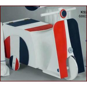 Ξύλινο κουτί  βέσπα (Κ529-2)