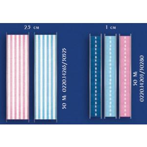Κορδέλα ριγέ 2.5 cm (0220.14265)