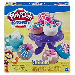Play-Doh Kitchen Creations Delightful Donuts (E3344)