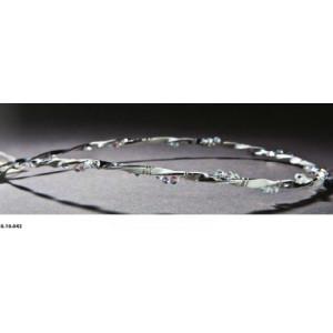 Στέφανα μεταλλικά κρυσταλλάκια rodia 38.10.042-4000