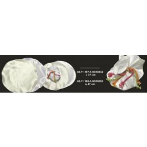 Σατέν στρόγγυλο 37cm 68.11.187-1-50τμχ