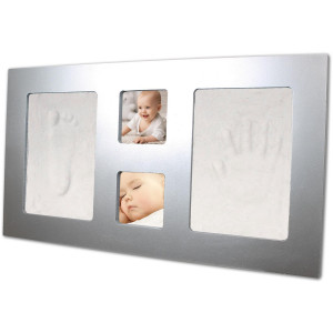 Dooky Happy Hands Αναμνηστικό Αποτύπωμα Large Frame Silver (Κωδ.507.01.070)