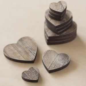 Μπομπονιέρα Kαρδιά Ξύλινη (Παρίσις Κωδ.14694-0155)