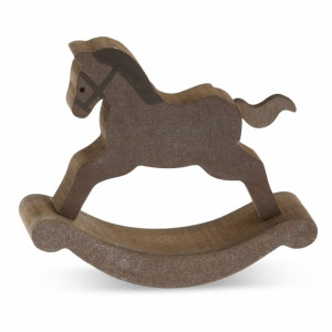 Μπομπονιέρα Αλογάκι  (Παρίσης) (Κωδ.14Γ7044-0180)