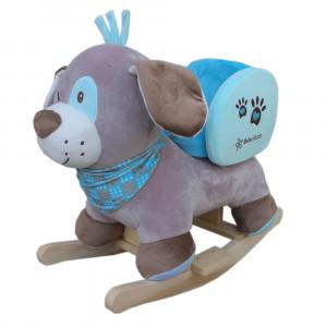 Κουνιστό Σκυλάκι 150-101 με ζωνάκι ασφαλείας