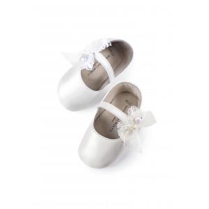 Παπούτσια Βάπτισης κορίτσι Babywalker Mi1555 narlis.gr