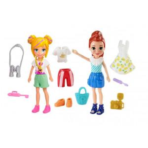 Polly Pocket Κούκλα Με Ρούχα (Διάφορα Σχέδια) (GDM01)