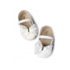 Παπούτσια Βάπτισης κορίτσι Babywalker Mi1573 narlis.gr