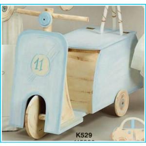 Ξύλινο κουτί  βέσπα (Κ529-3)